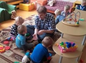 Konstantinas su vaikais